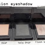Addiction by Ayako Flash back, Twig, Sandbar Eyeshadow mono