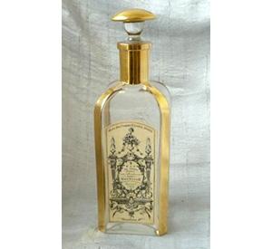 """Guerlain Eau de Roses c1830 Flacon """"Femme Drapeaux"""""""