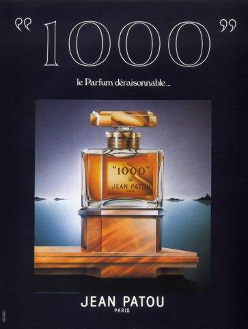 Jean Patou (Perfumes) 1986 Parfum Déraisonnable 1000