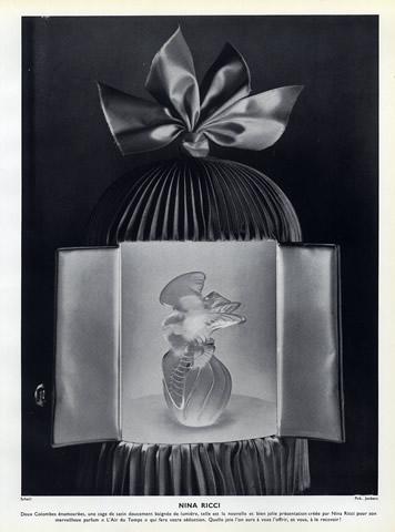Nina Ricci (Perfumes) 1953 L'Air du Temps