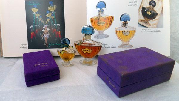 Shalimar Guerlain vintage parfum