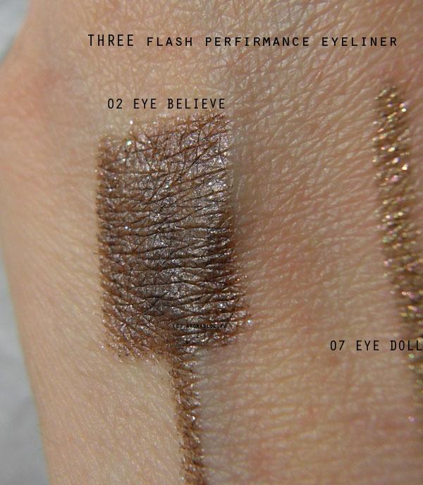THREE Flash Performance Eyeliner Pencil eye believe