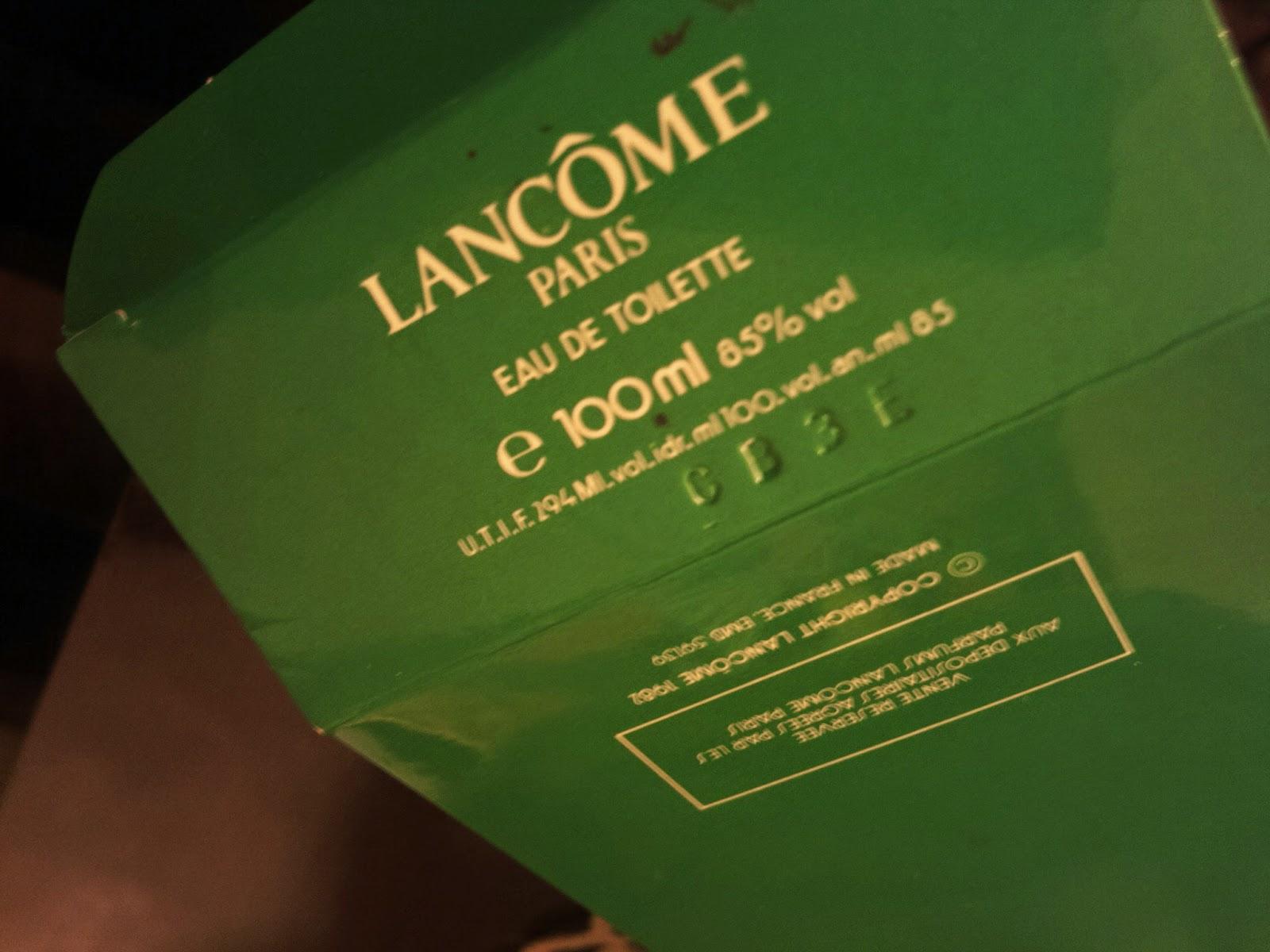 Trophèe Lancome