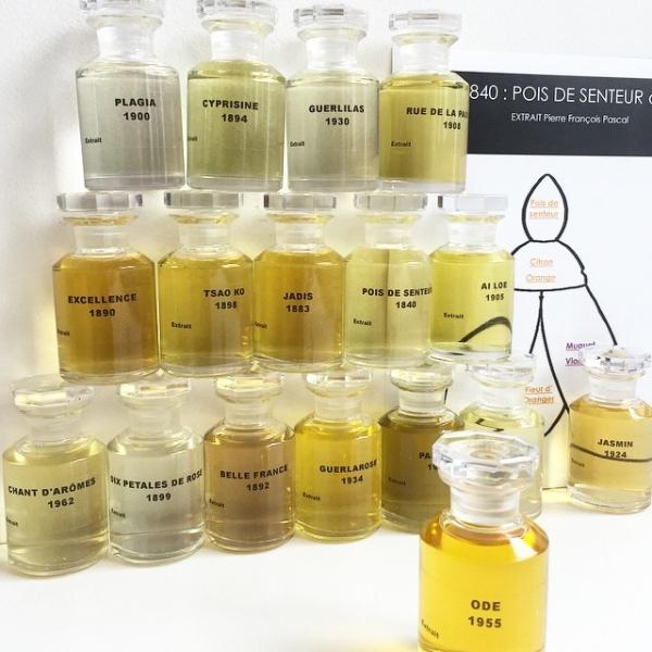 50 винтажных ароматов в L' atelier Guerlain