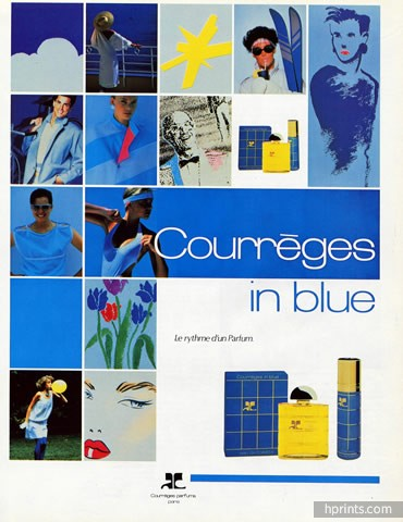 Courreges in Blue