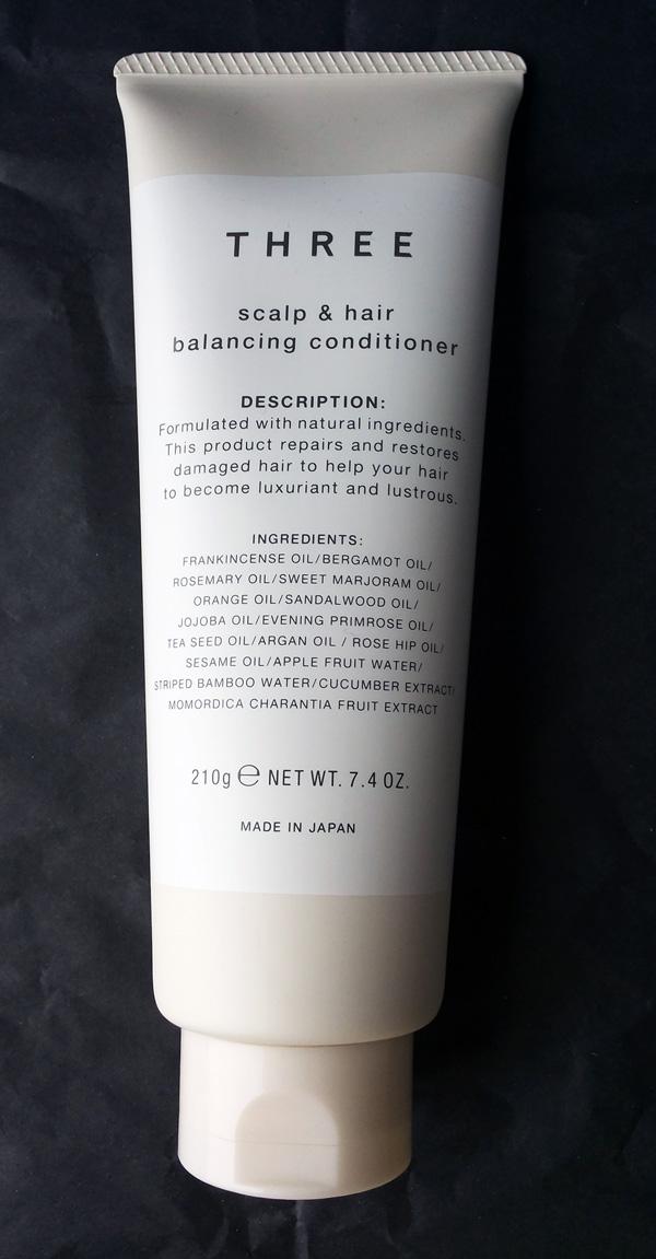 THREE scalp and hair balancing conditioner