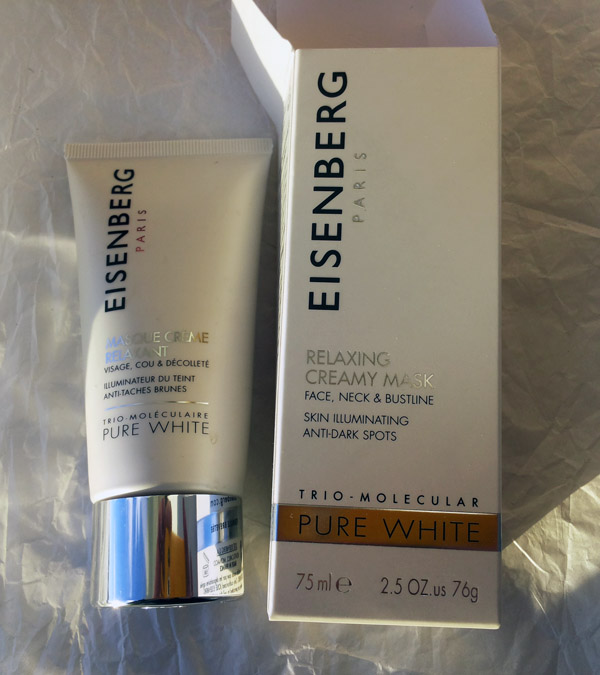 EISENBERG Pure White relaxing creamy mask