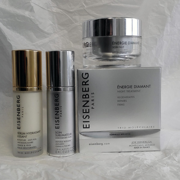 Eisenberg Excellence Energie Diamant night treatment, SOIN SUBLIMATEUR contour des yeux и SÉRUM HYDRATANT LISSANT
