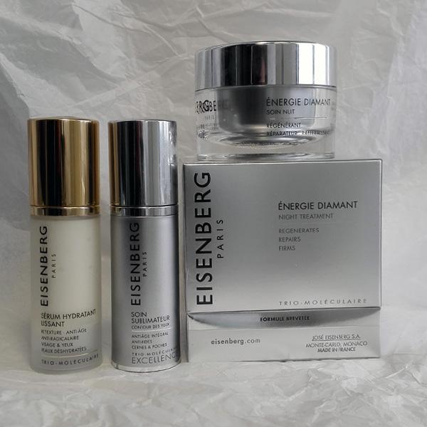 Eisenberg Excellence Energie Diamant night treatment, SOIN SUBLIMATEUR contour des yeux и SÉRUM HYDRATANT LISSANT