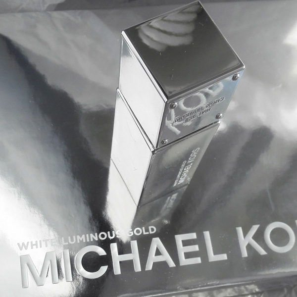 White Luminous Gold Michael Kors