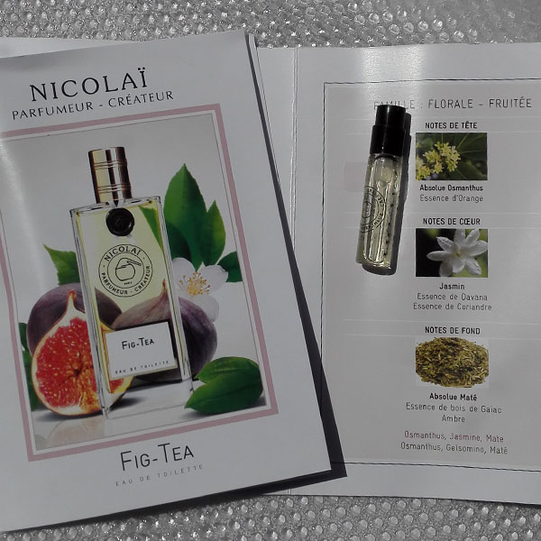 Парфюм дня Fig-Tea Parfums de Nicolaï