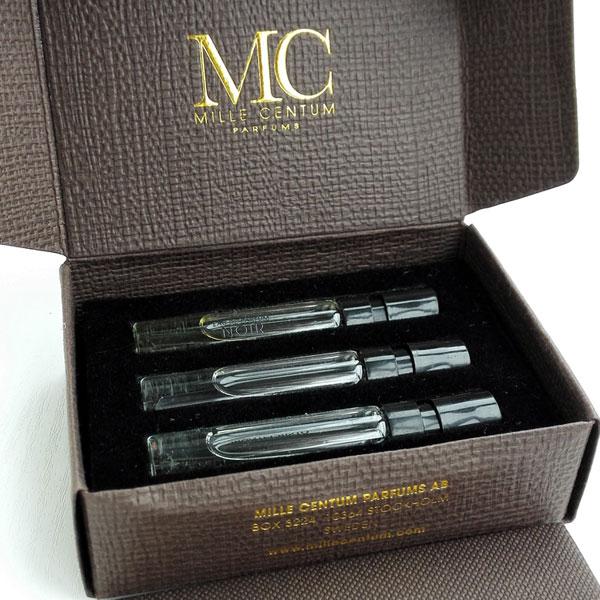 Mille Centum parfums Montecristo edp, Blanc и Noir