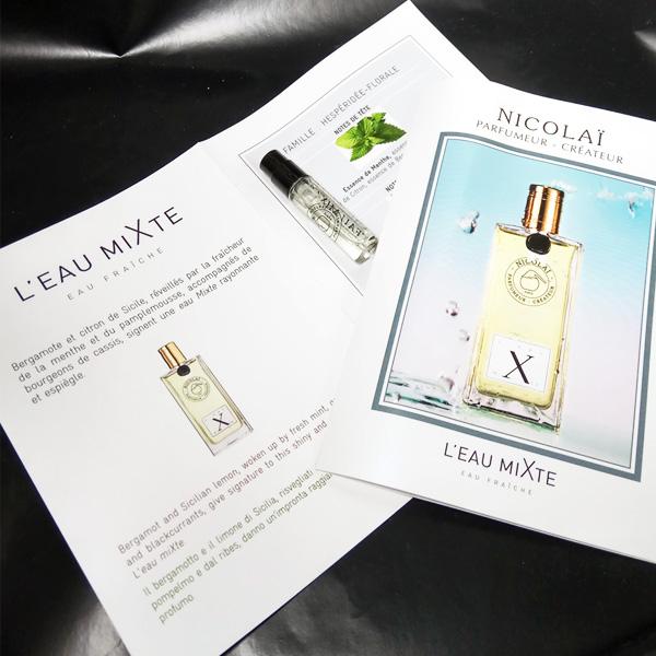L'eau miXte Nicolai Parfumeur Createur