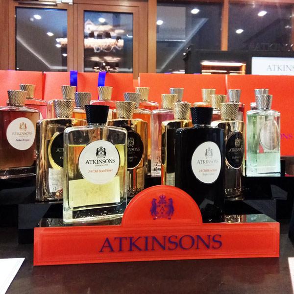Премьера 41 Burlington Arcade Atkinsons в Rivoli Perfumery ТГ Модный сезон