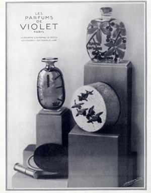 Violet (Perfumes) Pourpre d'Automne, Sketch
