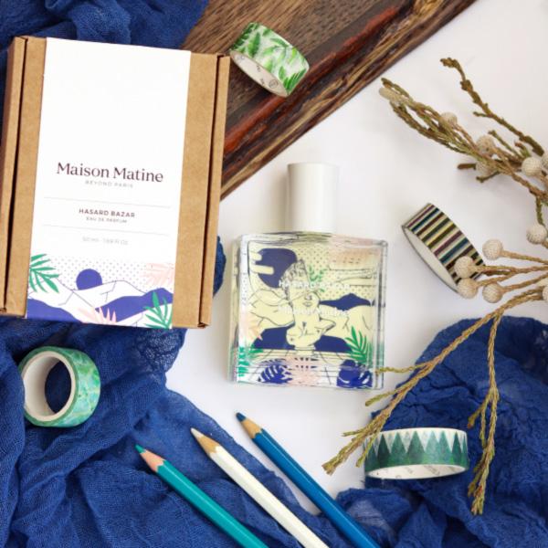 Maison Matine perfume review Aromablog